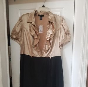 ASHLEY STEWART NWT KNEE LENGTH DRESS